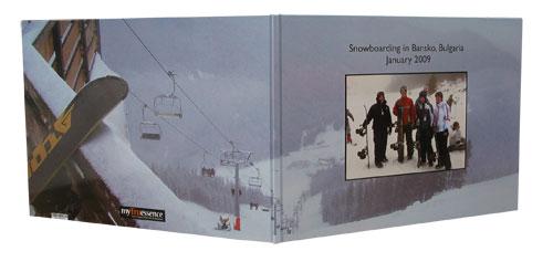 Snowboarding photobook