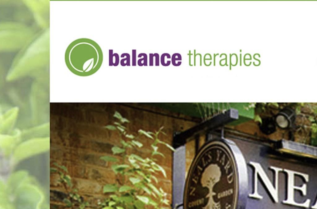 Balance Therapies