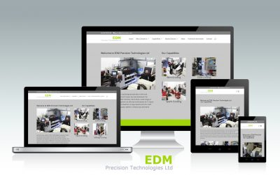 Website design and build for EDM Precision