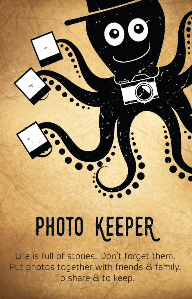 Photo Keeper business card