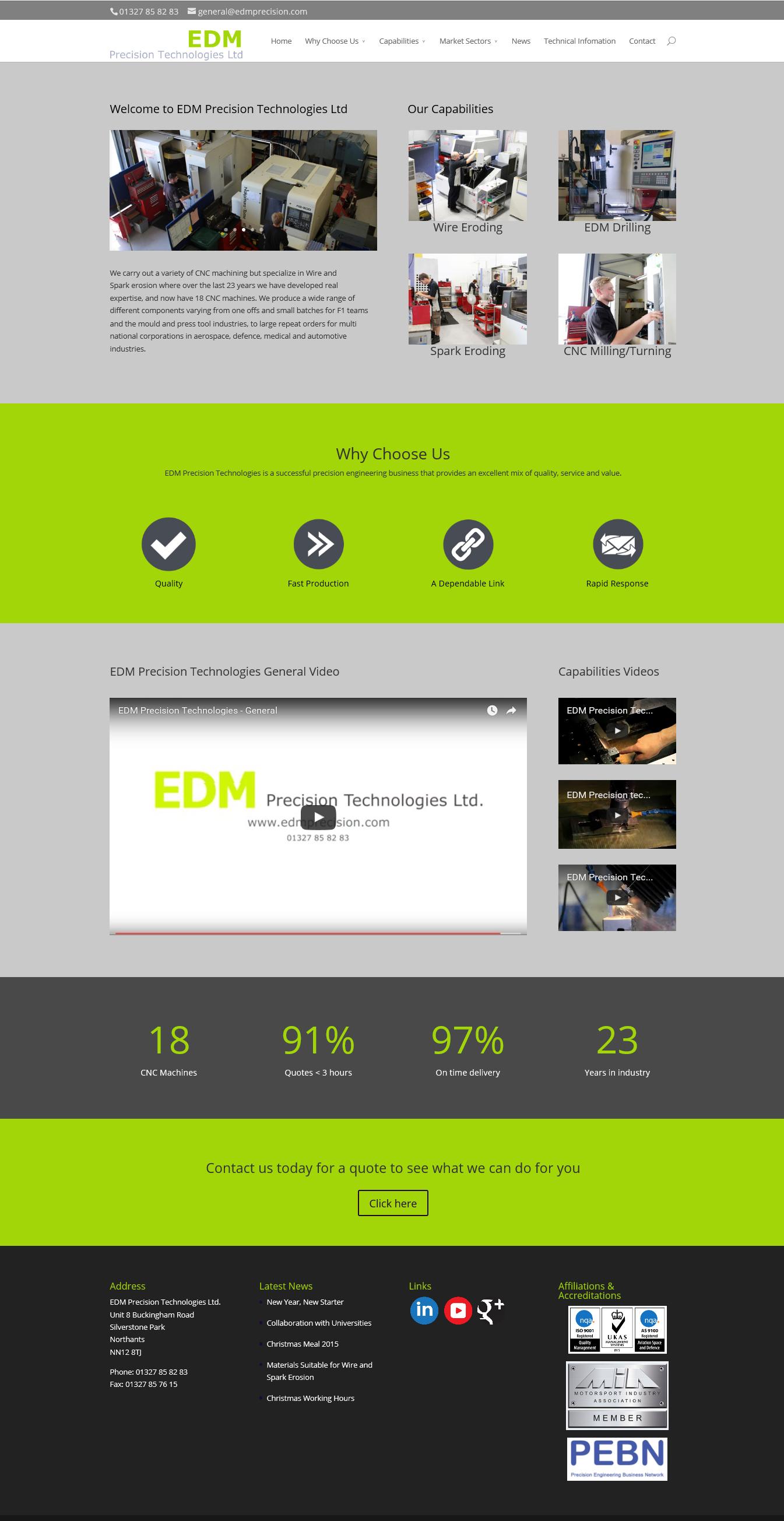 EDM Precision