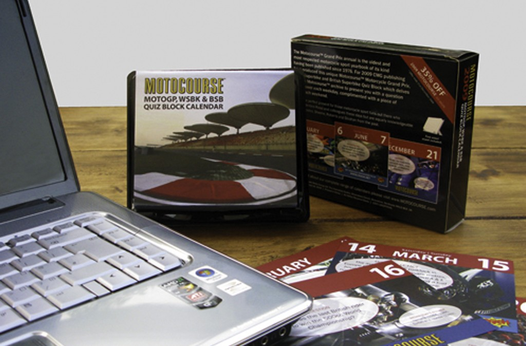 Motocourse Calendars