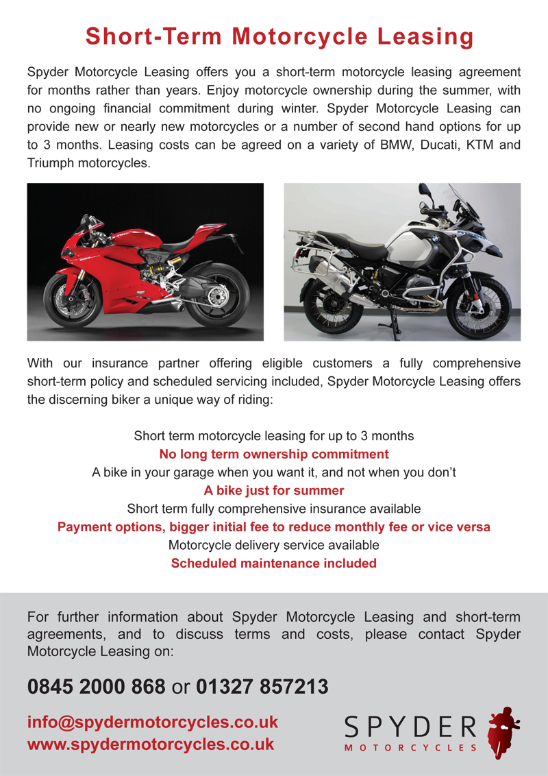Spyder A5 flyer design