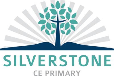 Silverstone Primary logo White